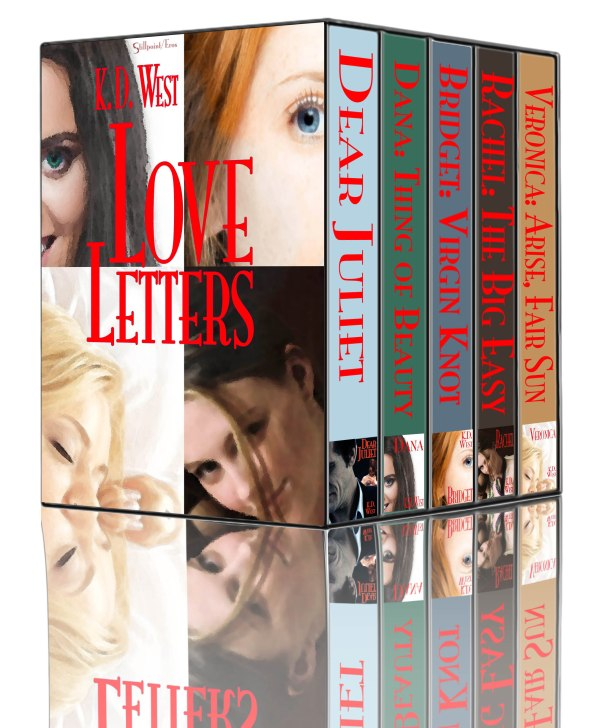 Love Letters – A Collection of Erotic Tales by K.D.West