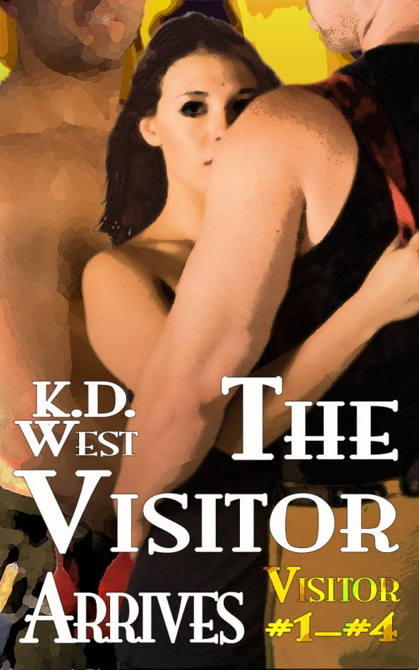 ON SALE! The Visitor Arrives: Friendly (Firemen) Menage Tales