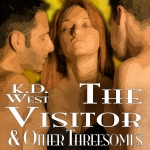 The VIsitor & Other Threesomes - Audiobook cover