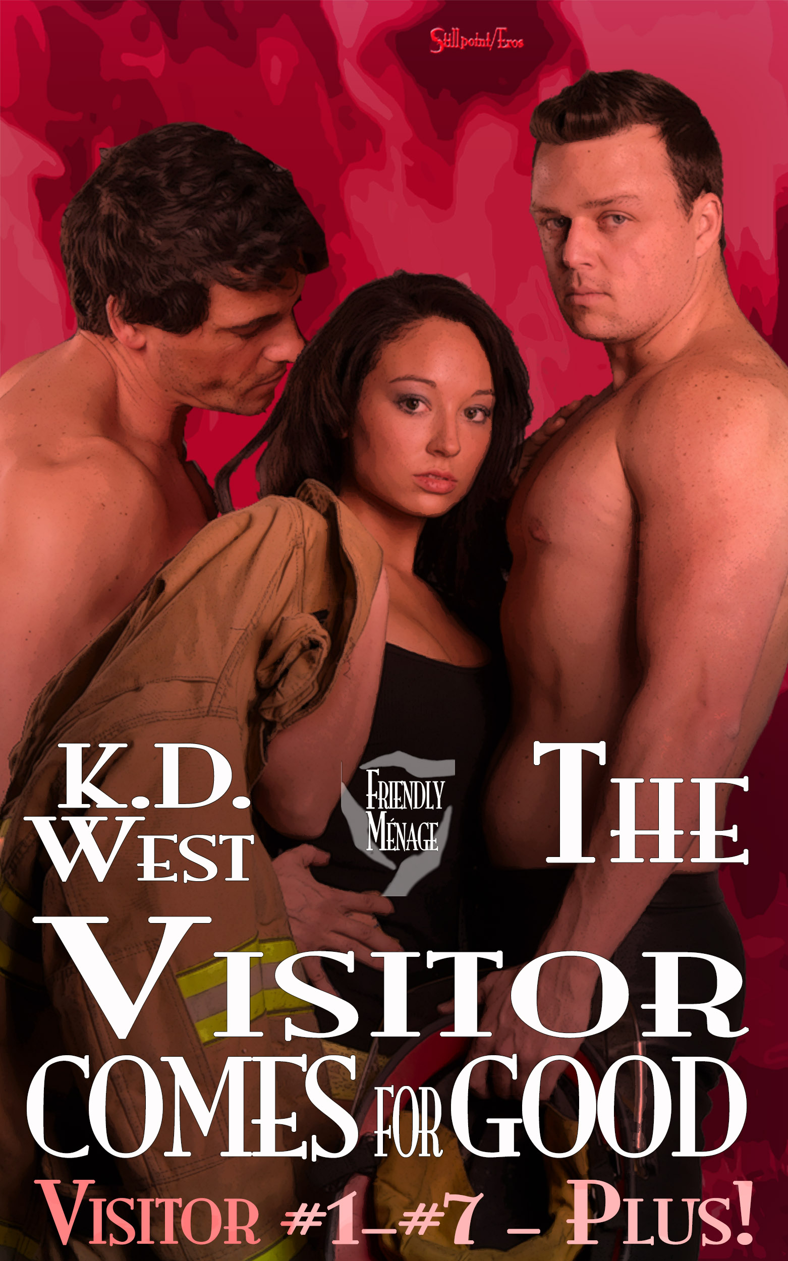 The Visitor Comes for Good — Friendly MMF Menage Tale