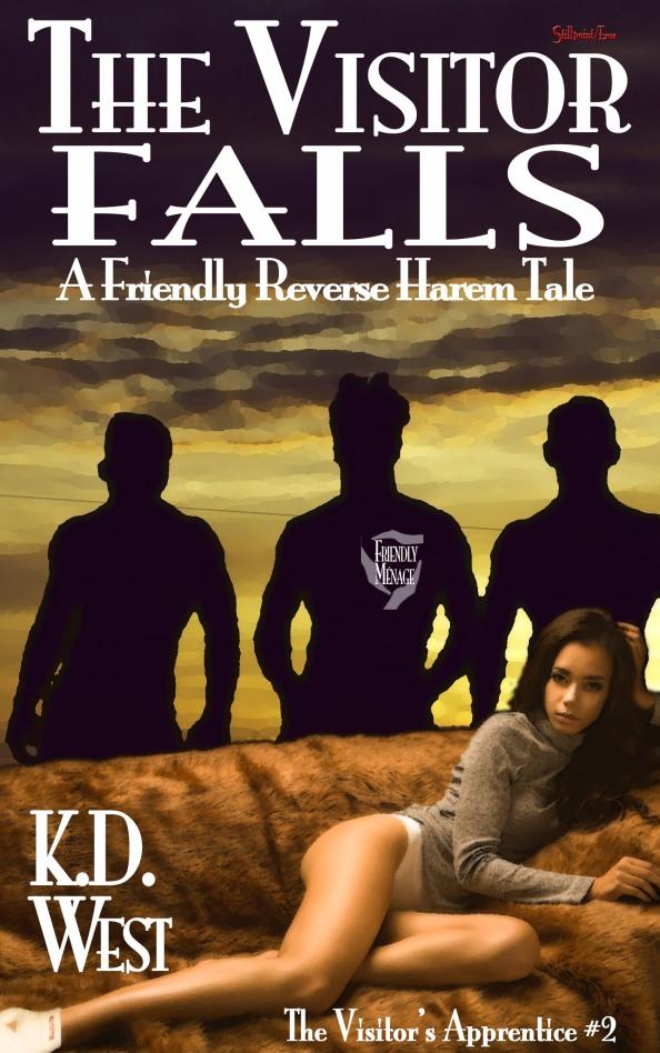Sneak Peek: The Visitor Falls (interracial reverseharem)
